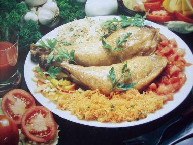 Andalúzské kuře na česneku