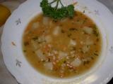 Kroupová polévka recept