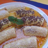 Banány v karamelové omáčce recept