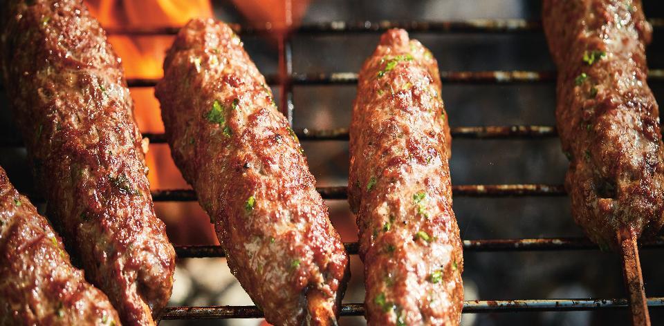 Hovězí šiš kebab