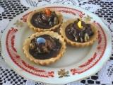 Košíčky s ořechovou náplní recept