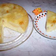 Obrácený koláč s medem recept