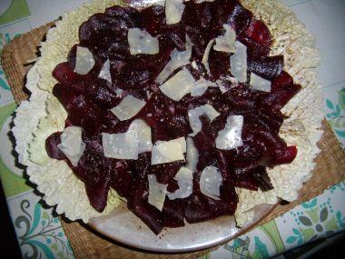 Carpaccio z červené řepy recept