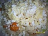 Nudle s tvarohem a meruňkami recept