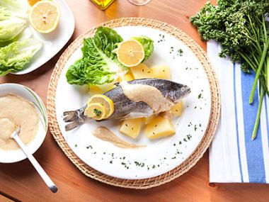 Omáčka k pečené rybě