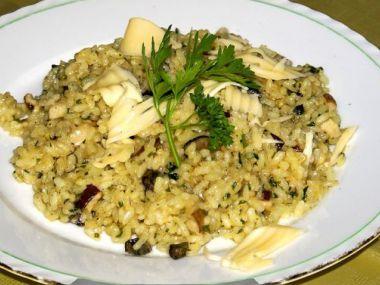 Recept Krémové houbové rizoto