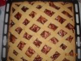 Křehký mřížkový koláč recept