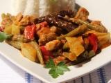 Vepřové se skořicí a zeleninou recept