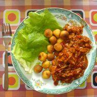 Pikantní sójové nudličky recept