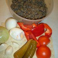 Čočkovo-zeleninový salát recept