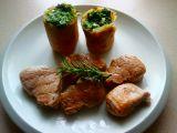 Panenka na rozmarýnu, brambory plněné špenátem recept ...