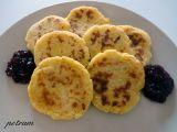 Bramborovo-jáhlové placky s povidly recept