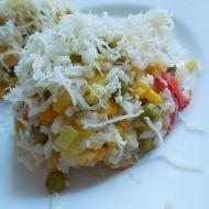 Zeleninové rizoto se sýrem recept