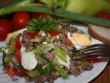 Salát z mletého masa recept