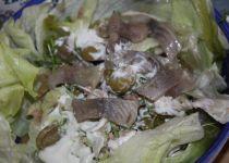 Řeřichový salát s medovou omáčkou recept