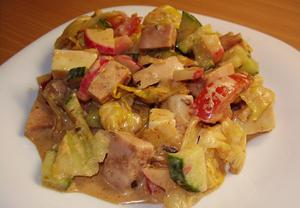 Salát jako hlavní jídlo