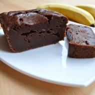 Banánový kakaový chlebíček recept