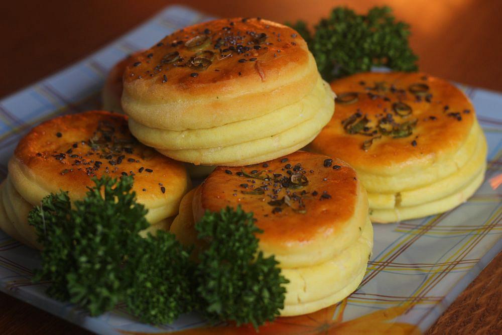 Kefírové etážky se sýrem recept