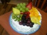 Ovocný dort  inspirace recept