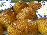 Pečené brambory se dvěma dipy recept