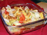 Salát s křupavým tofu recept