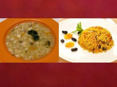 Oběd 66  Drůbková polévka a Pilaf