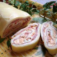 Sýrová roláda s tvarohem recept