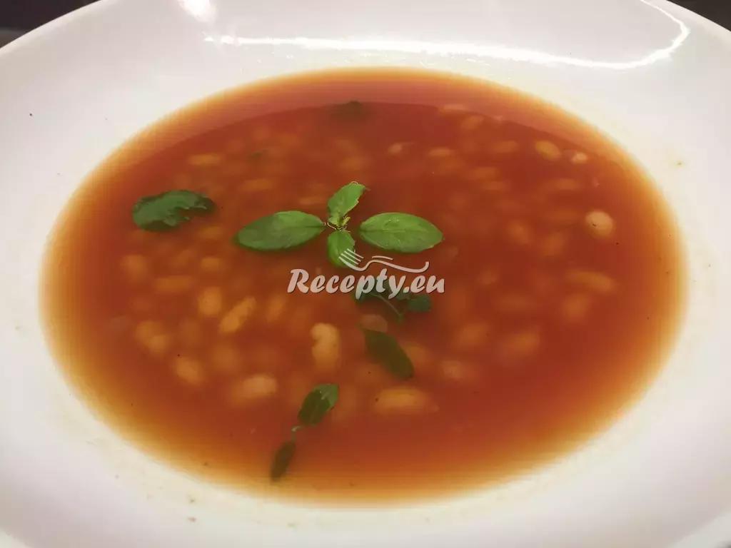 Rajská polévka s fazolemi recept  fitness recepty