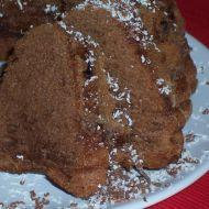 Nugátová bábovka s čokoládou recept