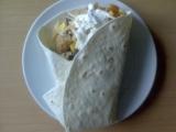 Plněné tortily recept