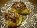 Žemlovka z toustového chleba s hruškovými povidly recept ...