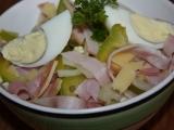 Pochoutkový salát se šunkou recept