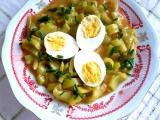 Paprikový guláš s vejci recept