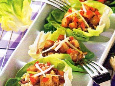 Plněné listy salátové a kapustové