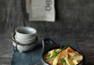 Thajské žluté zeleninové kari