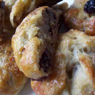 Listové pečivo s ořechovou náplní recept