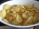 Lyonské brambory recept