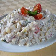 Bramborový salát se sardinkou recept