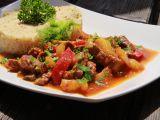 Hovězí nudličky se zeleninou recept