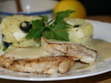 Rybí filé s máslovou omáčkou recept