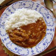 Guláš ze sójových kostek recept
