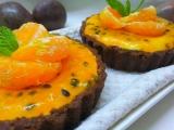 Mascarpone koláčky s exotickým přelivem recept