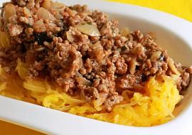 Špagetová dýně s mletým masem recept