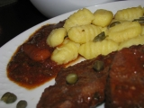 Gnocchi s roštenkami v italské omáčce recept