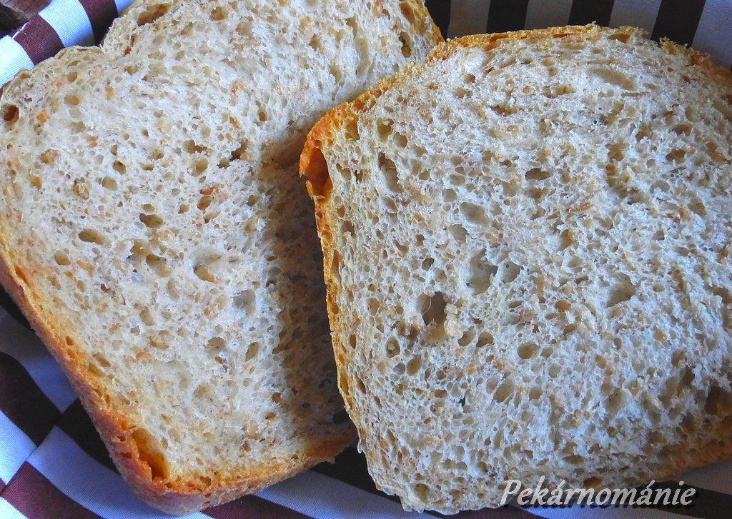 Chléb se žitnou lámankou recept