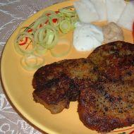 Kuřecí játra v bramborákovém obalu recept