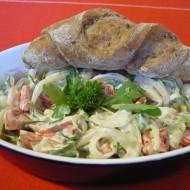 Čerstvý cibulový salát recept