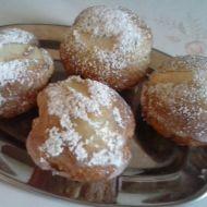 Smetanové muffiny s hruškami a zázvorem recept