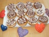 Medové koláčky s pudinkovým krémem recept