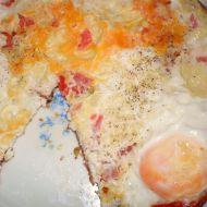 Rajčatovo-sýrová omeleta recept